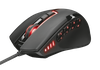 Mouse Trust GXT 164 Sikanda MMO Gaming, Black