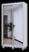 City Lite 2-дверные зеркала заднего вида 2,25 м x 1,2 м x 0,45 м белое дерево 0449