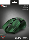 Mouse Trust GXT 101C Gav Gaming, Camo Green