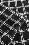 Юбка ORSAY Черный в клетку
