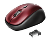 Wireless Mouse Trust Yvi, Red