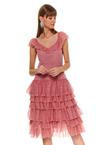 Платье TOP SECRET Розовый ssu2716