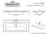 купить Умывальник на мебель Marrbaxx V022D1 в Кишинёве