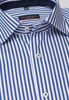 Рубашка ETERNA Белый/синий