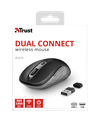 Wireless Mouse Trust Duco Dual Connect, Black