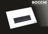 Кнопка для инсталляция подвесного WC Bocchi Vivente Control Panel White Glass