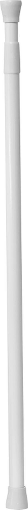 Tija glisanta pentru perdea 70-110cm alba, aluminiu