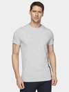 купить Мужская футболка H4L20-TSM015 MEN-S T-SHIRT COLD LIGHT GREY MELANGE в Кишинёве