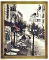 """Картина по номерам 40x50  """"Городской пейзаж"""" 1419"""