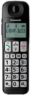 купить Телефон беспроводной Panasonic KX-TGE110UCB в Кишинёве