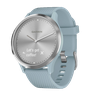 купить Vivomove Hr Silver With Sea Foam Silicone Band в Кишинёве