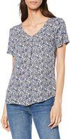 Блуза TOM TAILOR Принт цветочек