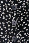 Брюки ZARA Черный в цветочек 2157/037/093 zara.