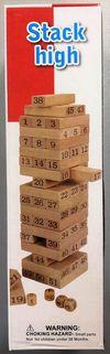 """Настольная игра """"Джанга"""", 54 дер. бруска X 0055CS (3875)"""