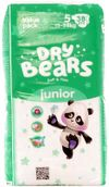купить Dry Bears Soft&Thin 5 Junior (15-25 кг) 38 шт. в Кишинёве