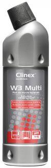 Clinex W3 Multi 1л для туалетов и ванных комнат