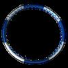Обруч массажный / Хулахуп d=100 см D1912-887 (4933)