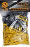купить Система выравнивания плитки, набор из 50 клиньев и 50 зажимов  Vorel 04691 в Кишинёве