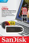 купить 32GB USB 3.0 Flash Drive SanDisk Ultra в Кишинёве