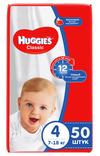 купить Подгузники Huggies Classic 4 (7-18 кг), 50 шт. в Кишинёве