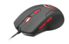 Mouse Trust Ziva Gaming + Mousepad, Black