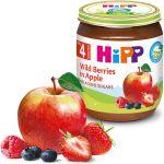 Пюре Hipp из яблок и лесные ягоды (4+ мес.), 125 г