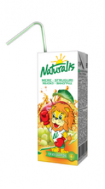 Naturalis нектар яблоко-виноград 0,2 Л