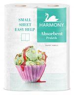 Полотенца бумажные Harmony Practik Extra Quick Absorbtion 2 слоя 11м*2