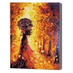 Оранжевая осень Алмазная мозаика 40x50 см
