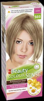 Vopsea p/u păr, SOLVEX MM Beauty Sense, 125 ml., S03 - Blond nisipiu