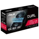 VGA ASUS Radeon RX5700XT 8GB GDDR6 Dual EVO OC