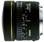 Объектив Sigma AF 8mm f/3.5 EX DG Circular Fisheye for Nikon