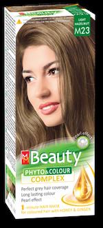 Краска для волос,SOLVEX MM Beauty, 125 мл., M23 - Лесной орех
