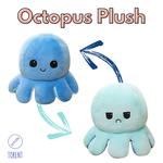 Octopus Plush I темно-синий - синий