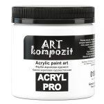 Акриловая  краска ART Kompozit, 430 мл, белила титановые (018)