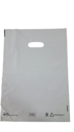 Пакеты с вырубной ручкой 33*45cм