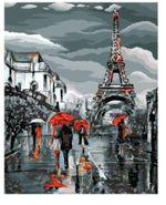 Цветное Картина по номерам «Французский вечер», D013