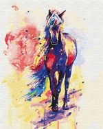 Картина по номерам 40x50 Смелая Айлин 02497