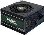 Блок питания ATX 600W Chieftec TASK TPS-600S, 80+ Bronze, Active PFC, 120-мм бесшумный вентилятор