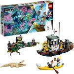 LEGO Hidden Side Старый рыбацкий корабль, арт.70419