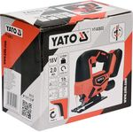 Аккумуляторный лобзик Yato YT-82822