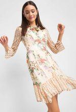 Rochie ORSAY Bej cu imprimeu floral orsay 442156