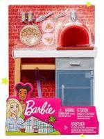 Набор мебели и аксессуаров для отдыха на природе Barbie, код FXG37