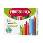Фломастеры Fibracolor 36 цветов моющиеся