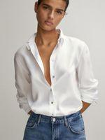 Блуза Massimo Dutti Белый 5112/571/250
