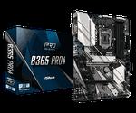 MB ASRock B365 PRO4 ATX //  CPU