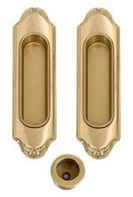 Комплект ручек для раздвижных дверей 1028-04 матовое золото