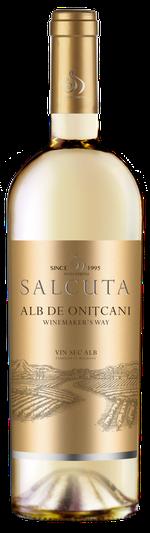 Vin Sălcuța WW Alb de Onițcani, sec alb, 0.75 L