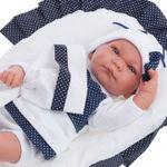Кукла младенец спящий Рамон с одеяльцем 40 см Код 3360