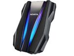 2,0 ТБ (USB3.2) 2,5 дюйма ADATA HD770G RGB IP68, защищенный от воды / ударов / пыли, черный (AHD770G-2TU32G1-CBK)